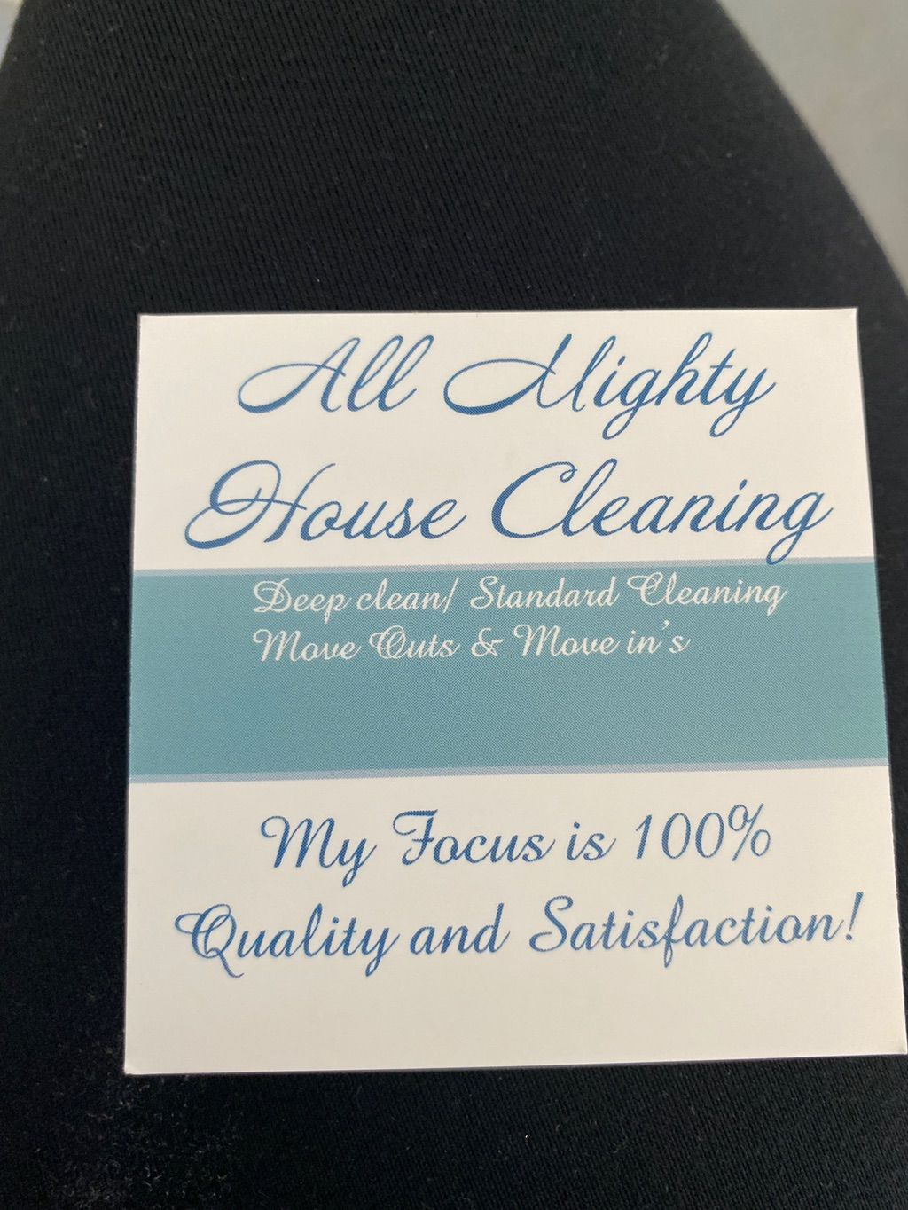 All Mighty House Cleaning!