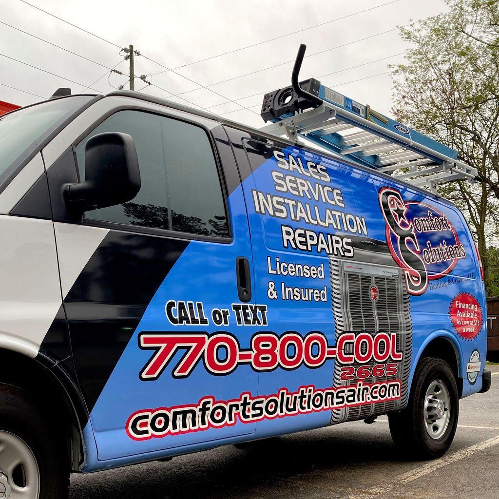 Comfort Solutions Heating & Cooling, LLC