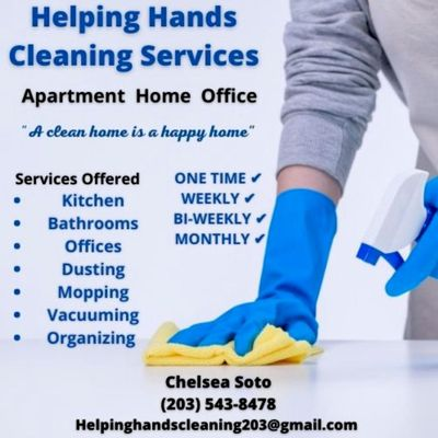 Avatar for Helping hands cleaning