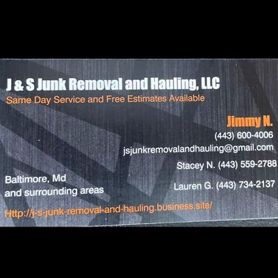 Avatar for J & S Junk Removal And Hauling