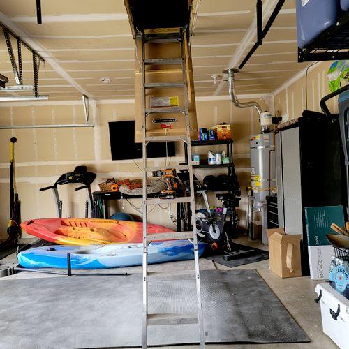 after attic Installation