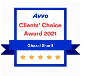 2021 Avvo Clients' Choice Award