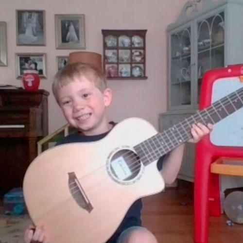 Louis / Guitar Student