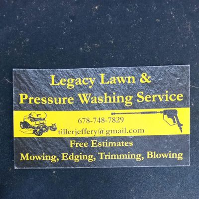 Avatar for Legacy Lawn& Pressure Washing services