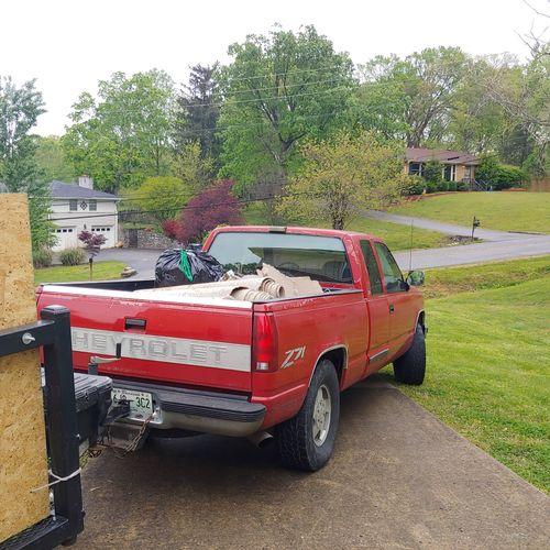 Junk Removal Job In Nashville Tn..