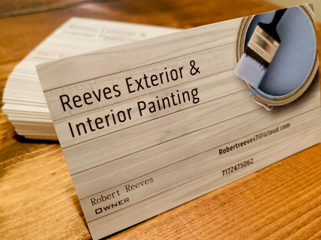 Reeves Exterior & interior painting
