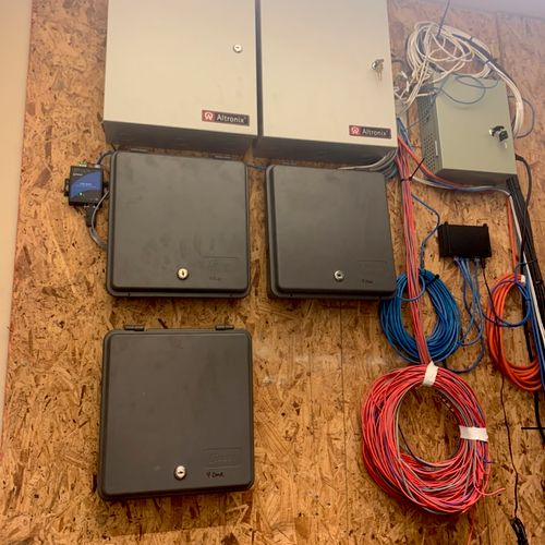 Access Control Installation at a Muli-Family Complex