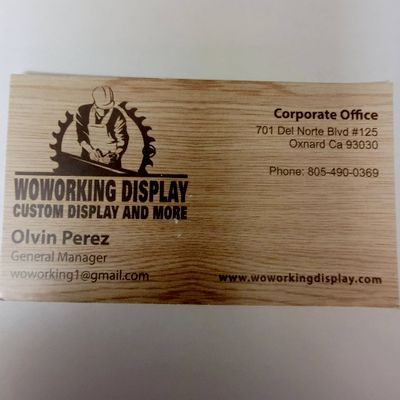 Avatar for Woworking display