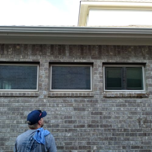 The difference in professional window cleaning is obvious!