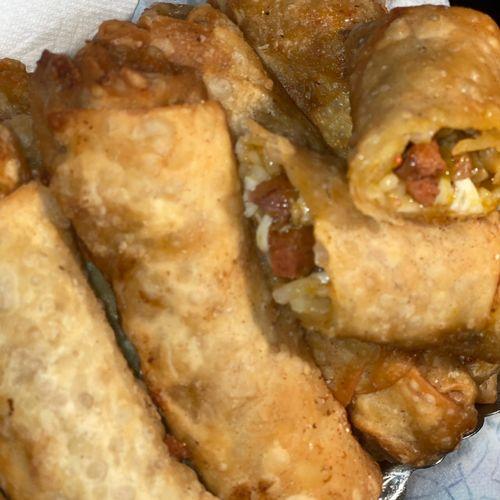 Jambalaya egg rolls