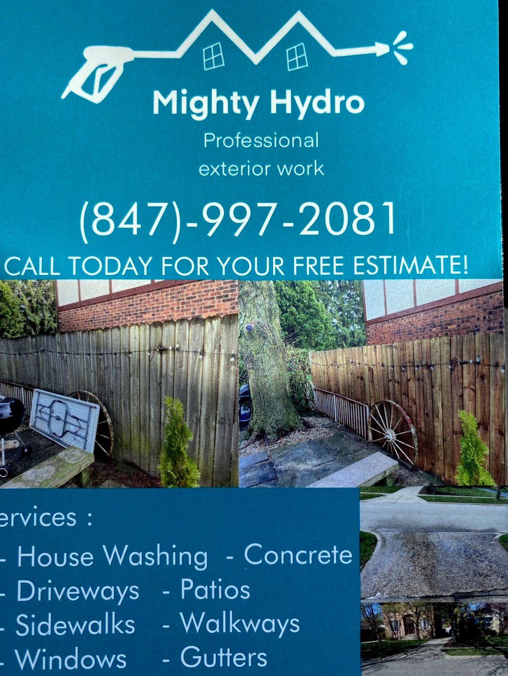 Mighty Hydro Exteriors