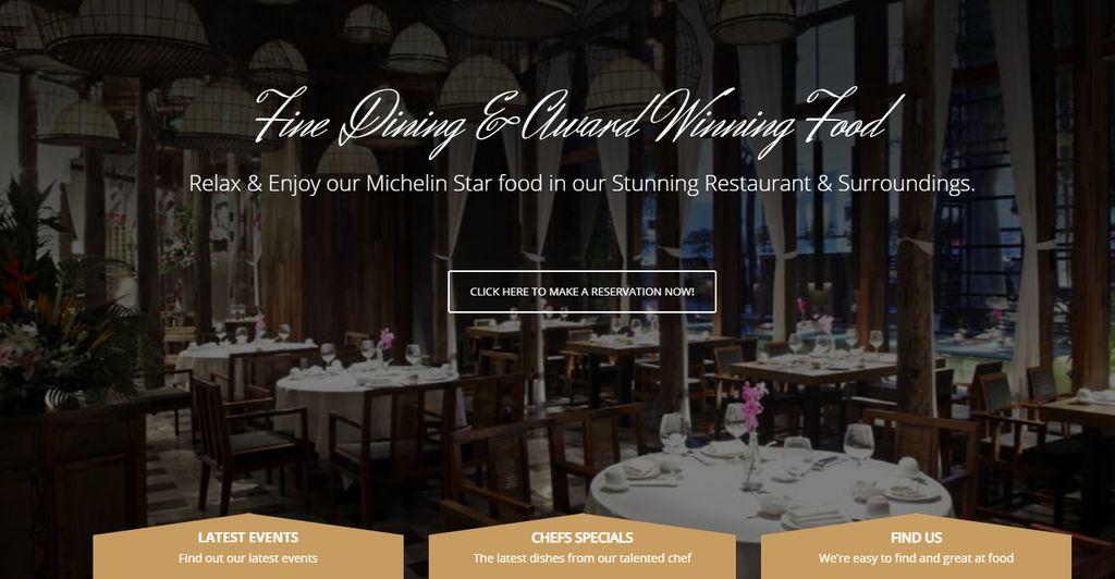 Restaurant website Project