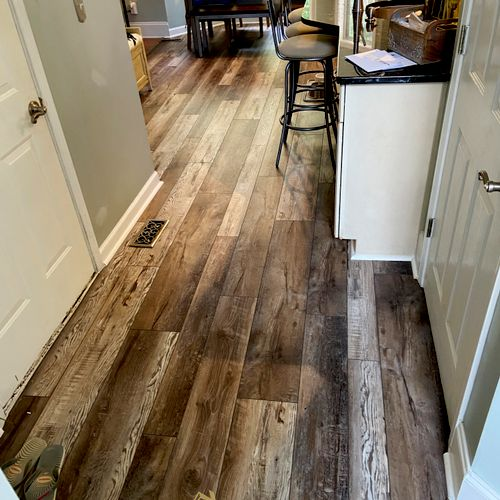 Luxury Vinyl Plank Floor