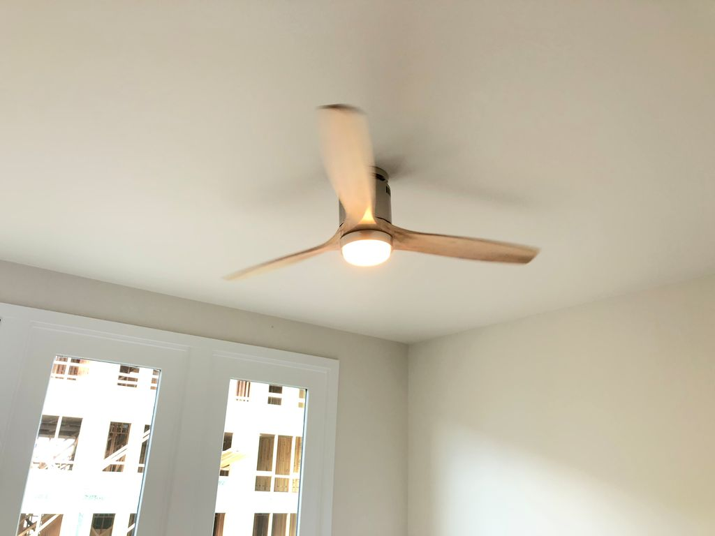 New home lighting and ceiling fans