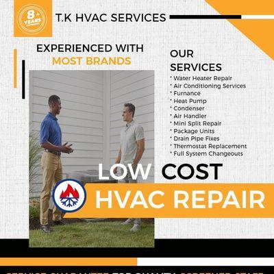 Avatar for T.K HVAC/R services