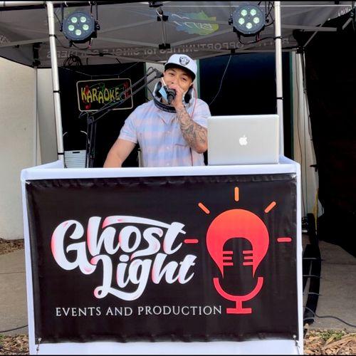 DJ GetGhost rockin' at the Presidio of Monterey!