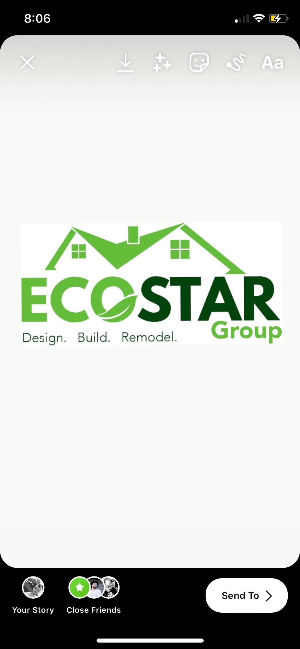 Ecostar group construction