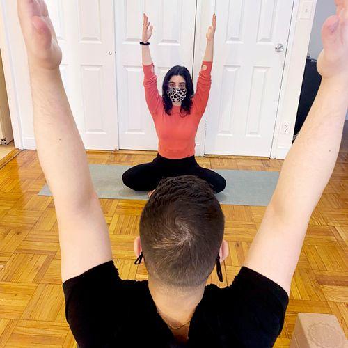 Open the door to yoga