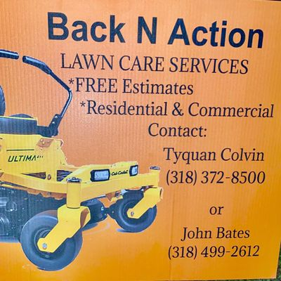 Avatar for Back N action lawn service LLC