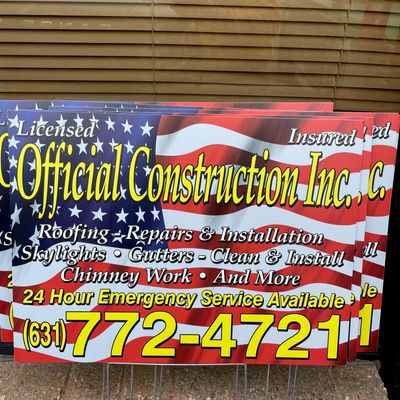 Avatar for Official Construction Inc.