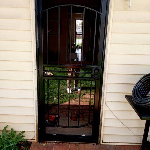 Storm Door install