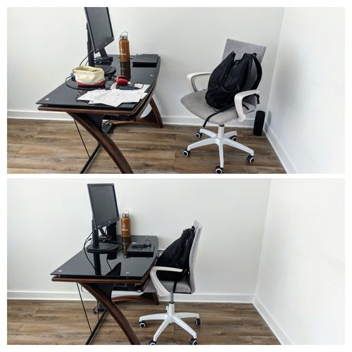 Before and After - Office