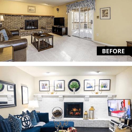 Family Room Transformation