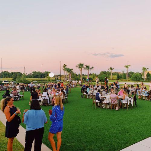 Reception at Omni Orlando