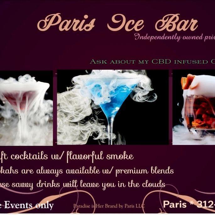 Paris Ice Bar🍸🌬🧊