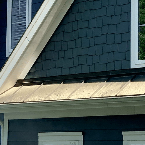 Metal Roof Cleaning | Before