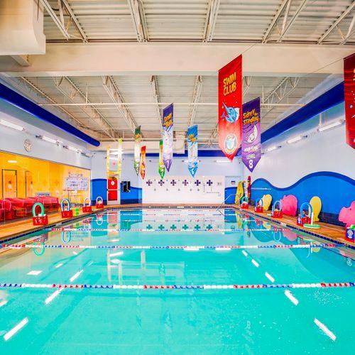 Swim School-sinks, drains, toilets