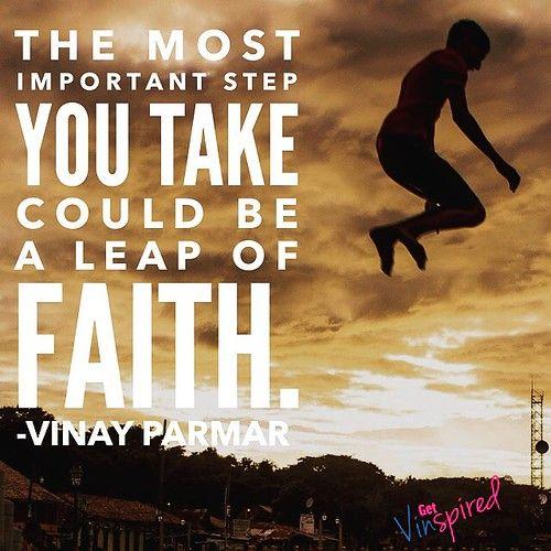 Let's leap together
