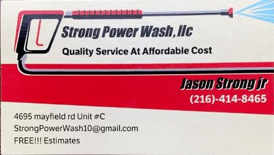 Avatar for Strong Power Wash,LLC