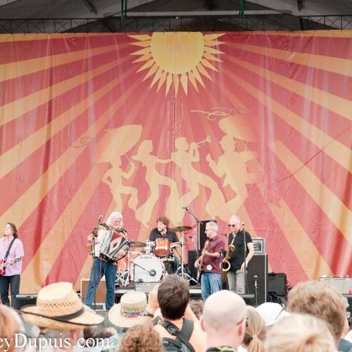 New Orleans Jazz Fest w/Johnny Sansone Band and Anders Osborne