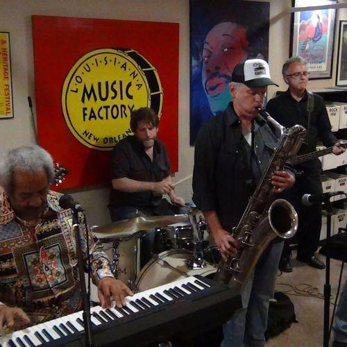 Johnny Sansone Band w/Allen Toussaint!