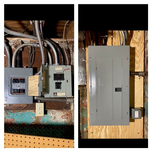 Federal Pacific Panels Replaced & Consolidated