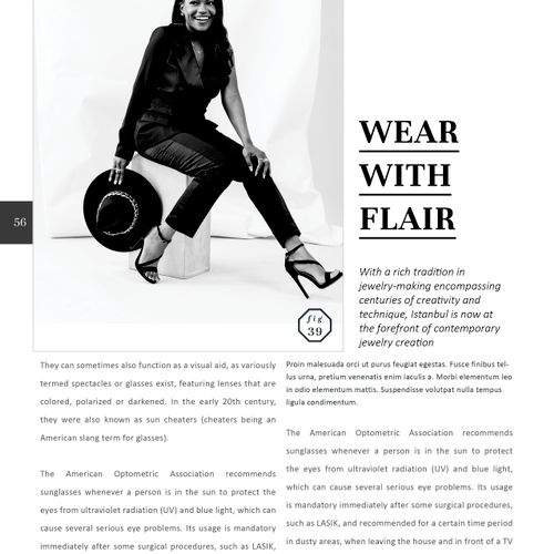 Got this startup blazer business into a nationally distributed magazine.