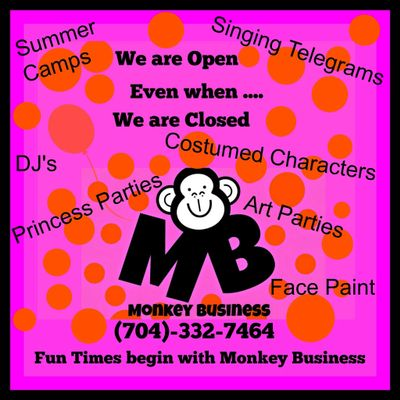 Avatar for Monkey Business Singing Telegrams