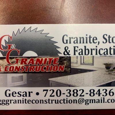 Avatar for G&G GRANITE&CONSTRUCTION LLC