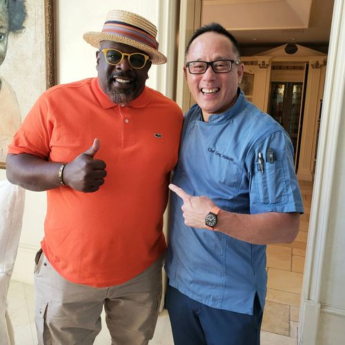 Mother's Day brunch with Cedric the Entertainer.