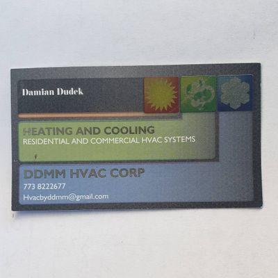 Avatar for DDMM HVAC CORPORATION