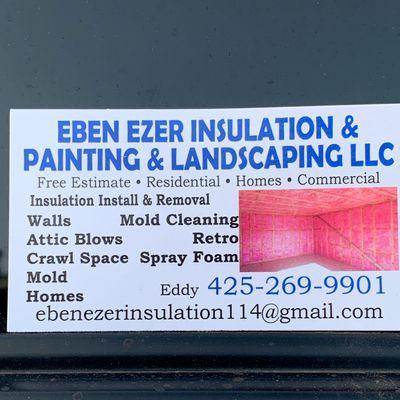 Avatar for EBEN EZER insulation & painting & landscaping Llc