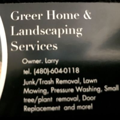Avatar for Greer home and landscaping services