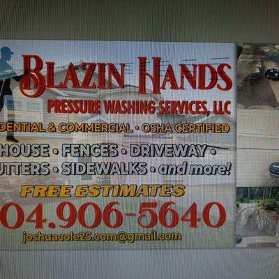 Avatar for Blazing hands pressure washing services LLC