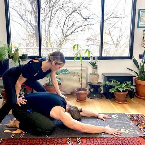 Hands on massage will help to alleviate areas of tension