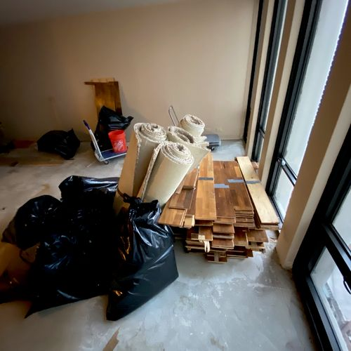 Demolition/Junk Removal from 37th Floor