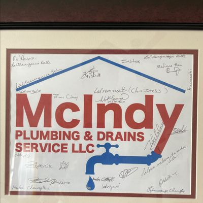 Avatar for McIndy Plumbing and drain service