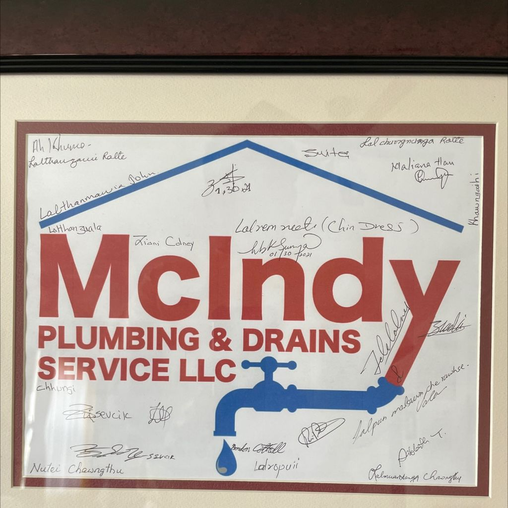 McIndy Plumbing and drain service