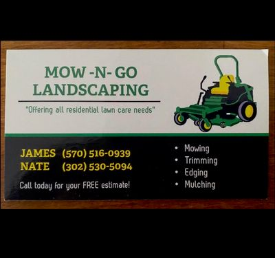Avatar for Mow -N- Go Landscaping