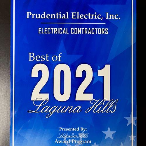 Best Electrical Contractor in Laguna Hills!